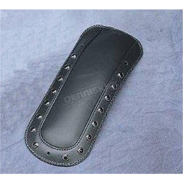 Mustang Seats Fender Bib for Solo Seats w/Black Studs - 78036