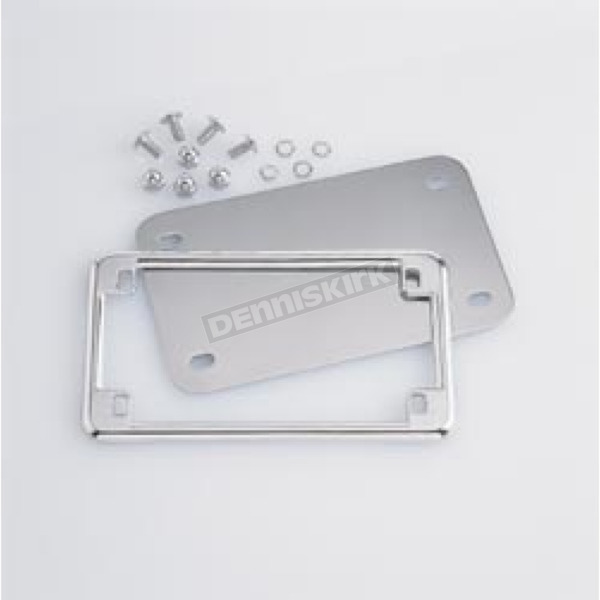 Kuryakyn License Plate Holder and Back Plate Set - 9166