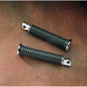Drag Specialties Extended Length Rubber Vibration-Absorbing Footpegs - DS-253403