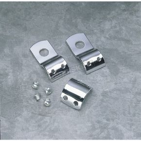 Mid USA Non-Slip 1 in. I.D. Clamp Set with 1/2 in. Mounting Hole - 22910