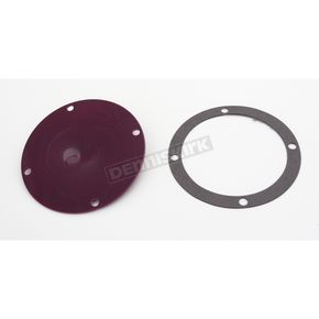 Kuryakyn Hypercharger Violet Access Cover - 8428