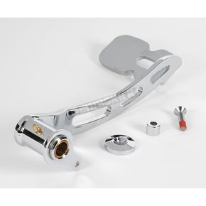 Kuryakyn Chrome Girder Style Extended Brake Pedal for Footboard Equipped Models - 1027