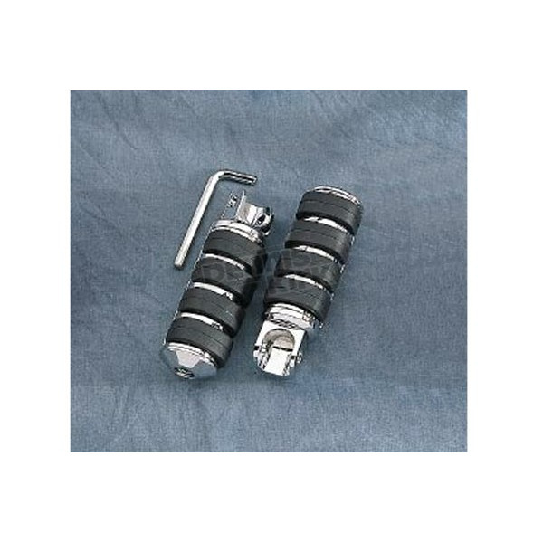 Drag Specialties Large Diameter Soft-Ride Pegs   - DS-253501