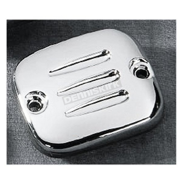 Drag Specialties Grooved Style Front Master Cylinder Cover - DS-373814