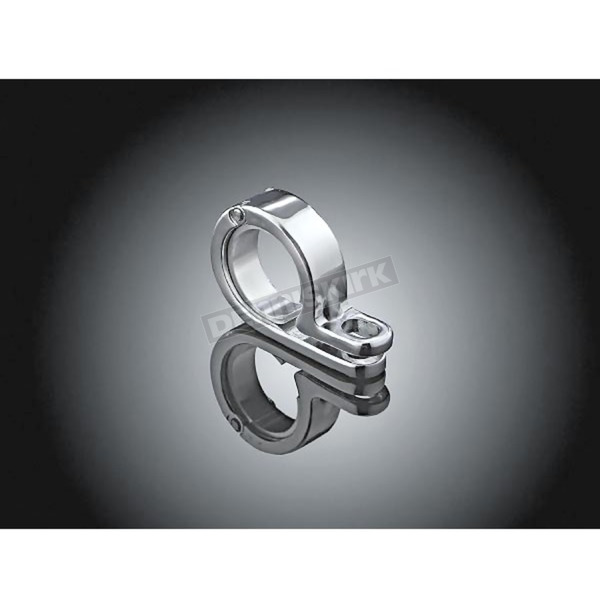 Kuryakyn 1 3/8 in. - 1 1/2 in. Chrome P-Clamp - 4019