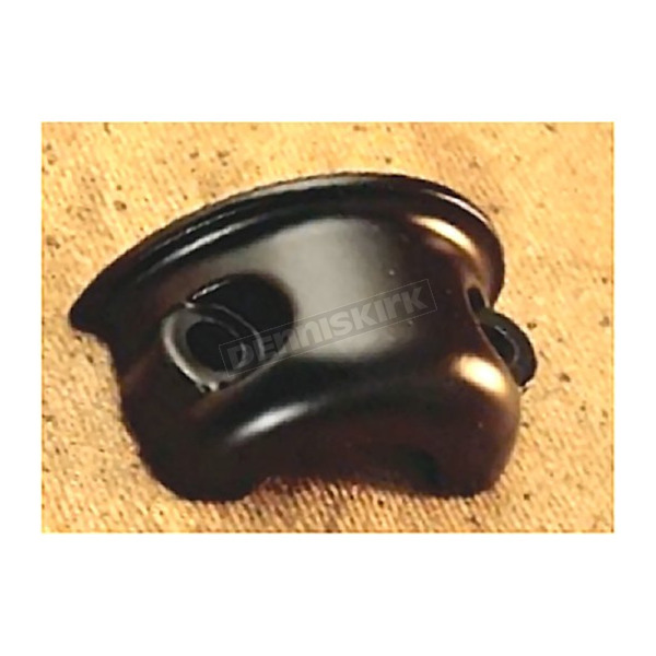 Drag Specialties Black Clamp Half for Clutch & Brake Controls - DS-290694