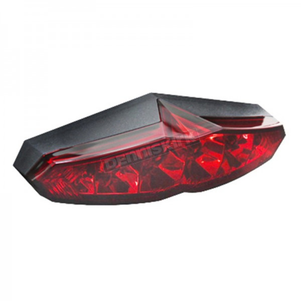 Koso North America Infinity LED Taillight Lens w/Red Lens - HB025020