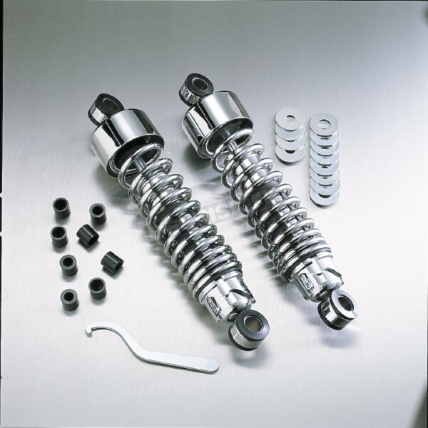 Progressive Suspension Chrome 412 Series 14.25
