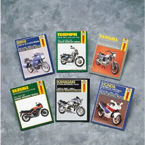Haynes Yamaha Motorcycle Repair Manual  - 340