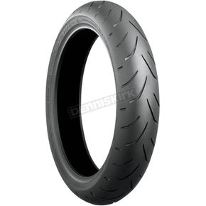 Bridgestone Front Battlax S20 130/70ZR-16 Blackwall Tire - 024039