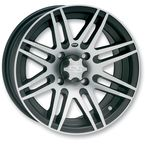 Front or Rear Black SS316 Alloy 14x7 Wheel - 1428523536B
