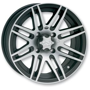 ITP Front or Rear Black SS316 Alloy 12x7 Wheel - 1228517536B