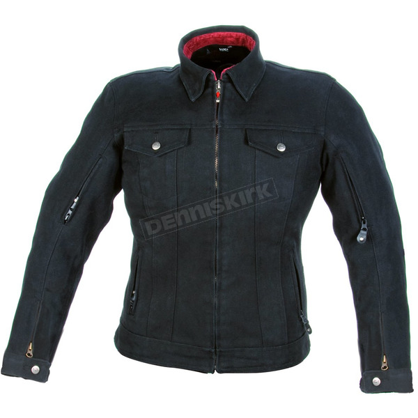 Power-Trip Ladies Ronin Armored Denim Jacket - 90414006