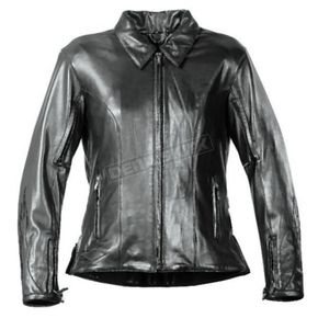 Power-Trip Onyx Leather Jacket - 441-1001