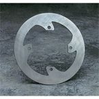 Mud-Proof Solid Disc Brake Rotor - 1711-0202