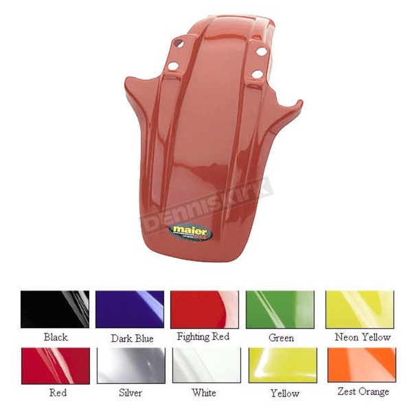 Maier Red Standard ATV Front Fender - 120322