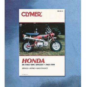 Clymer Honda Repair Manual - M310-13