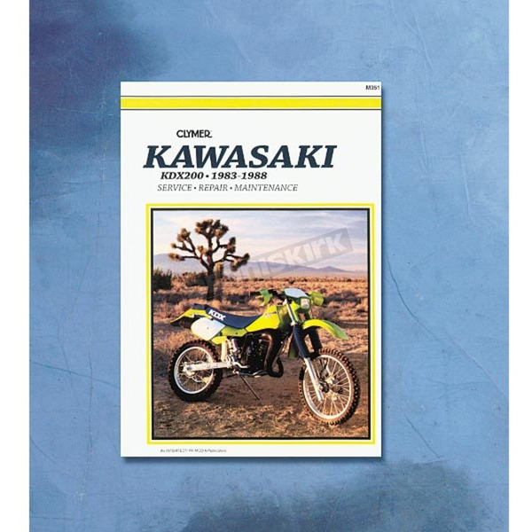 Clymer Kawasaki Repair Manual - M351