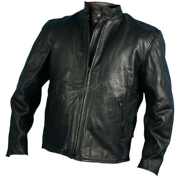 Hot Leathers Mens Leather Racing Jacket - JKM1008-56