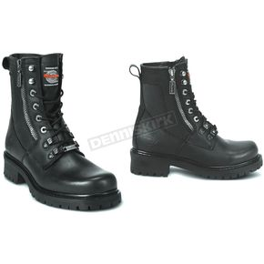 Milwaukee Motorcycle Clothing Co. Mens Trooper Leather Boots - D Width - MB41618