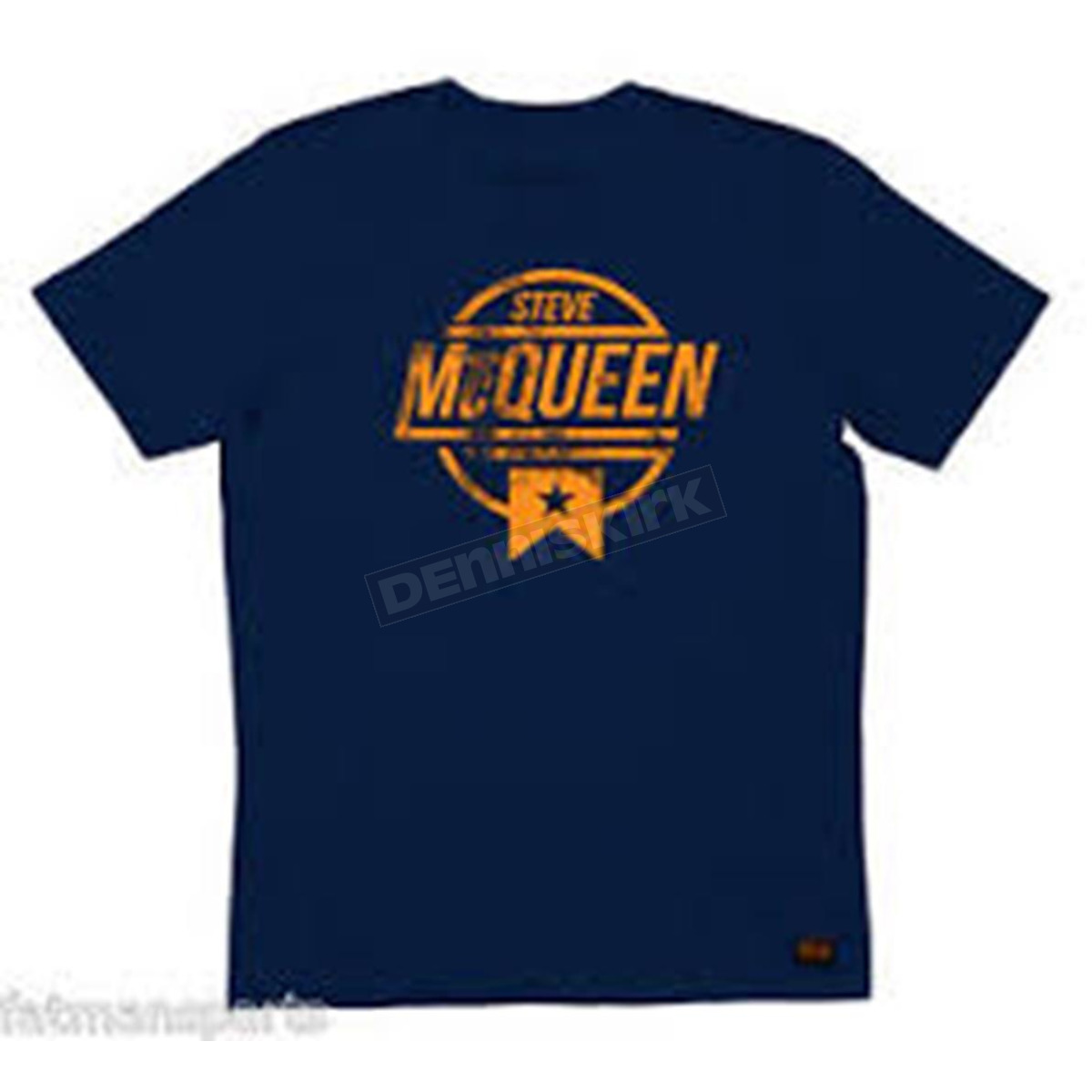 Troy Lee Designs Navy Mcqueen Flyer T Shirt 6232 3309