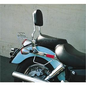 MC Enterprises Sissy Bar w/Studded Pad - 290-10