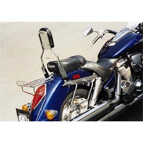 MC Enterprises Sissy Bar w/Studded Pad - 290-5