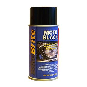 Bike Brite Moto Black Powder-Coat Engine Cleaner - MC53000