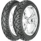 Front ME880 120/70VB-17 Blackwall Tire - 0966700