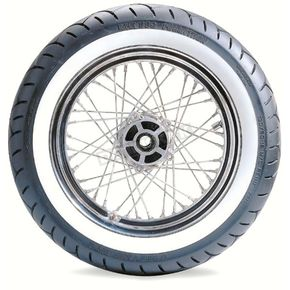 Metzeler Rear ME880 150/80HB-16 Wide White Sidewall Tire - 1425900