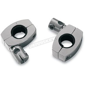 Memphis Shades Two Complete 1 1/4 in. Handlebar Clamp Assemblies for 3/8 in. rods - MEM9950