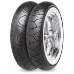Rear Conti Milestone CM2 Mileage Plus 150/80H-16  Wide White Sidewall Tire - 02484140000