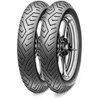 Front MT 75 100/80T-16 Blackwall Tire - 0317400