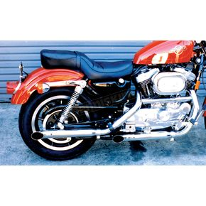 Cycle Shack Turnout Slip-On Mufflers - MXL-134TOA