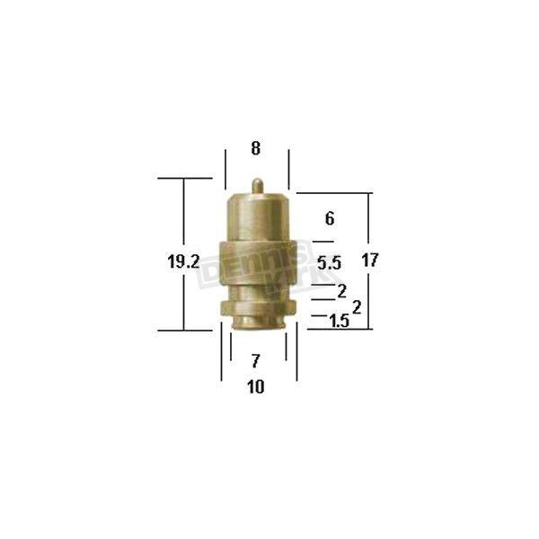 Mikuni Size 2.8 Needle and Seat for RS34-40mm Carbs - N149.040-2.8