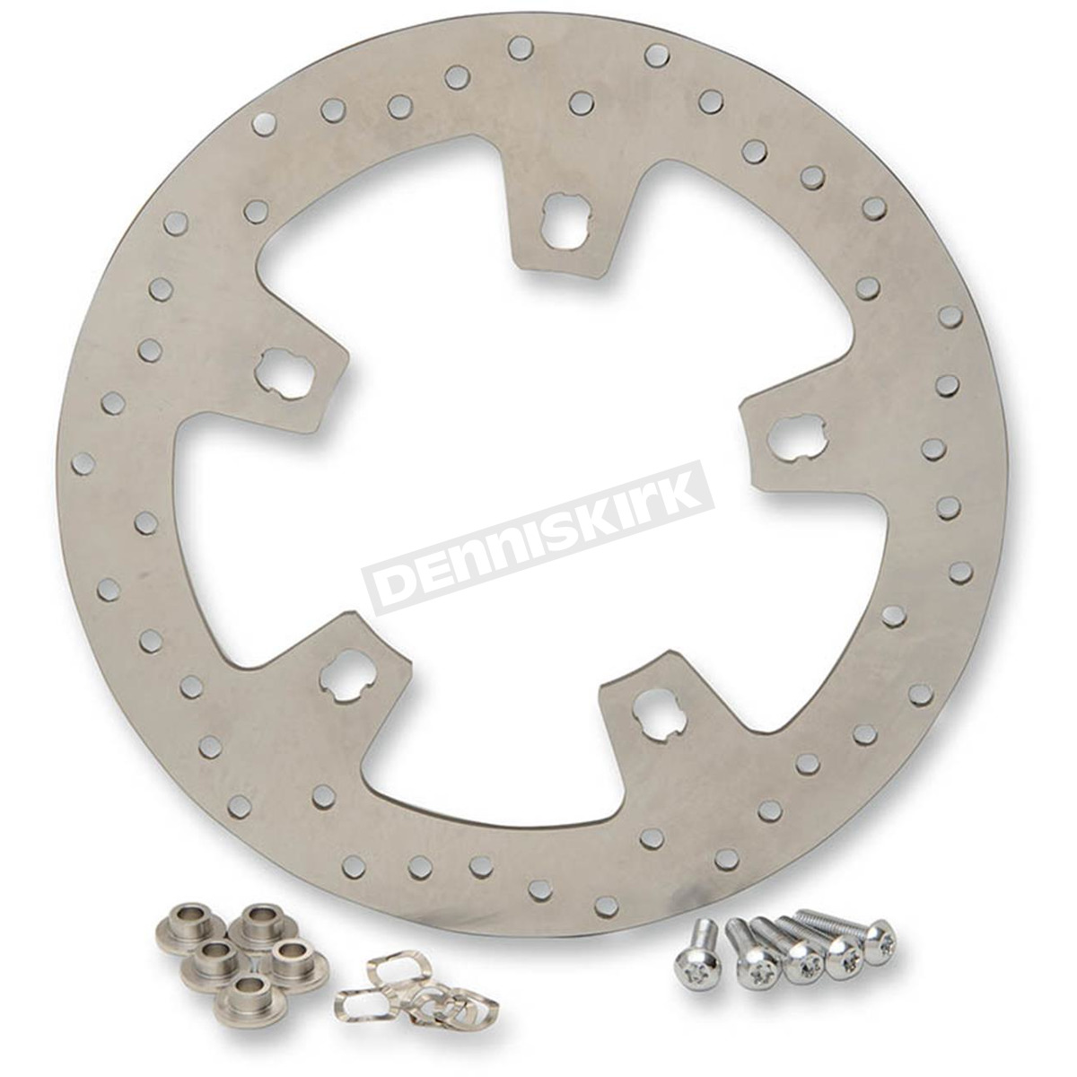 Stainless Brake Rotors : Drag specialties in stainless steel drilled front