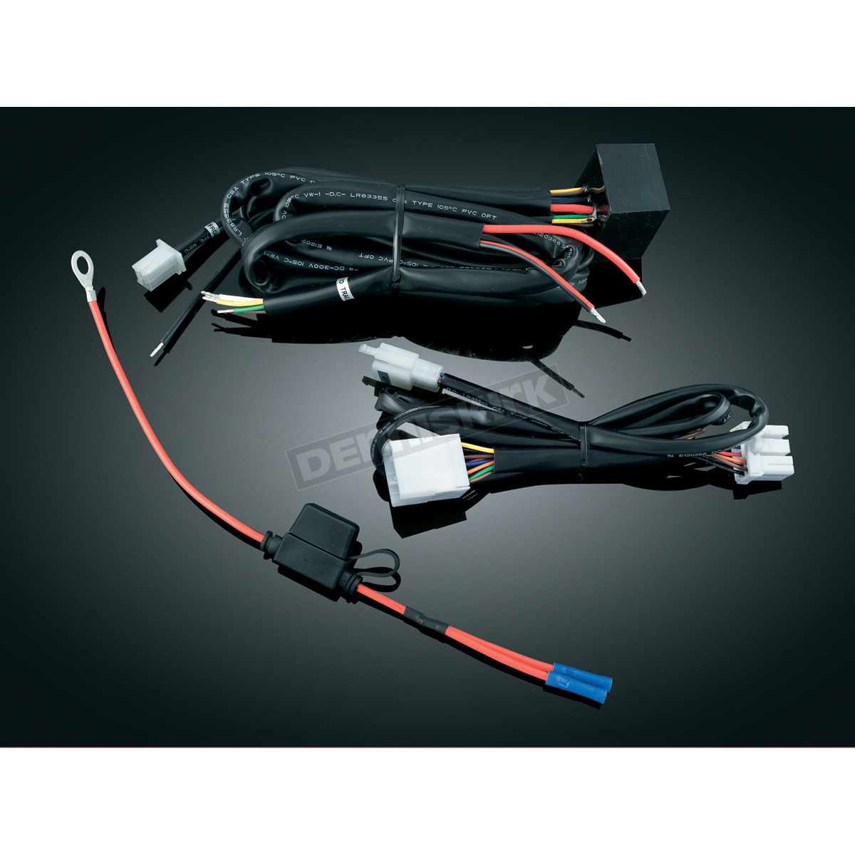 oe215973 kuryakyn plug and play trailer wiring and relay harness 7672  at creativeand.co
