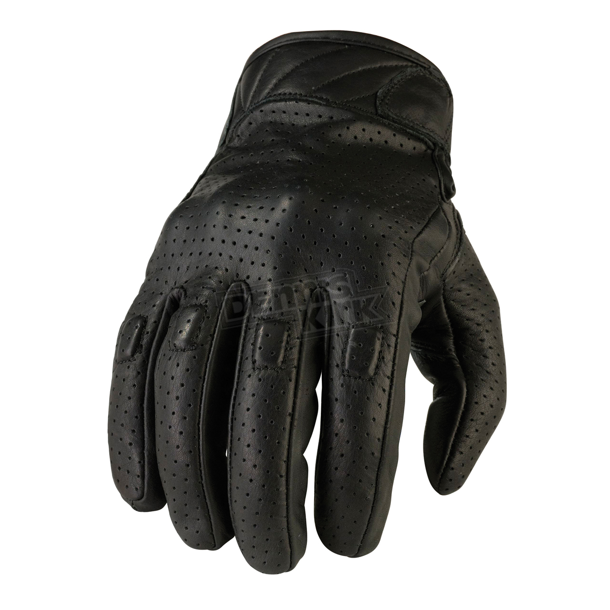 Mens black leather gloves xl - Loading Zoom