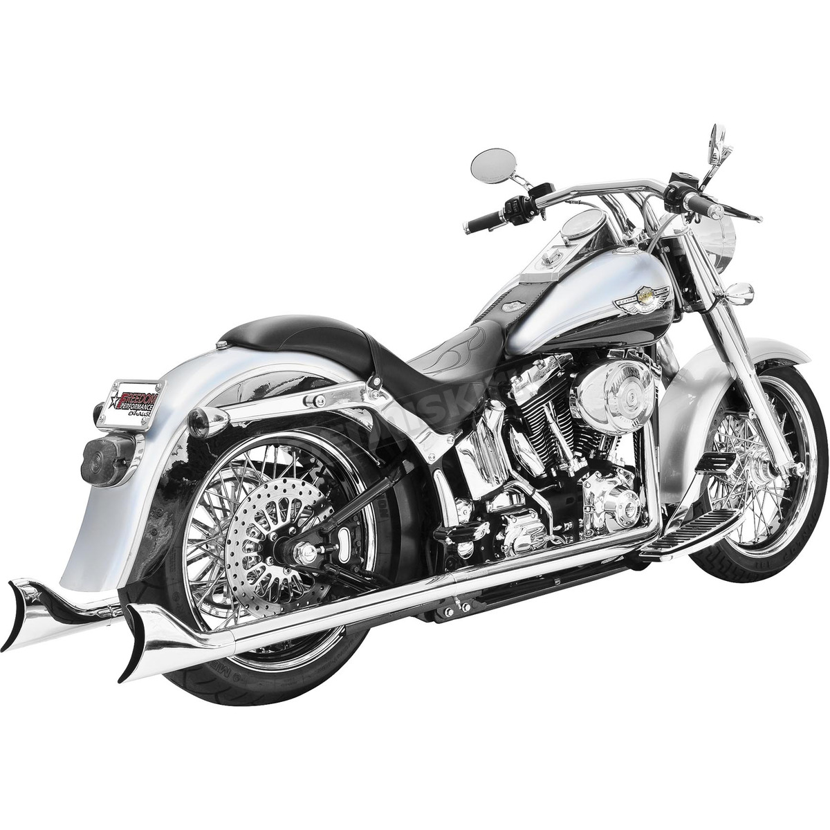 Freedom Performance Sharktail Signature True Dual Exhaust System - HD00203