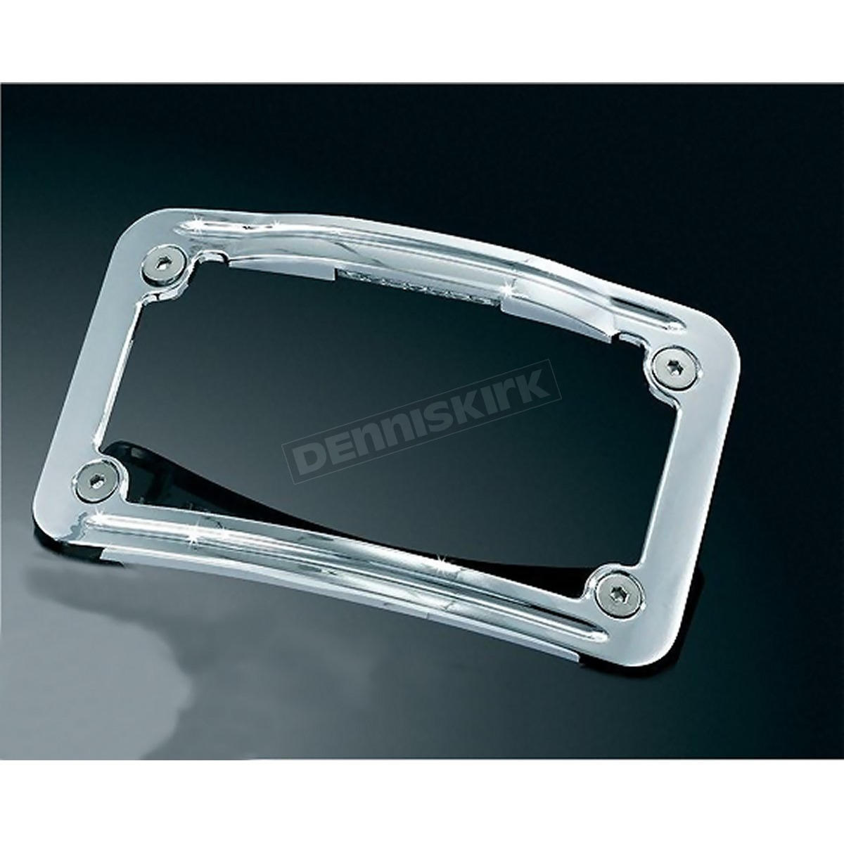 kuryakyn curved license plate frame 3144 loading zoom