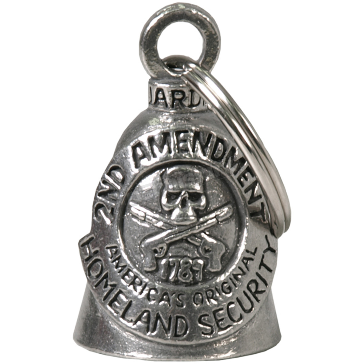 Hot Leathers BEA1015 Silver Native American Guardian Bell
