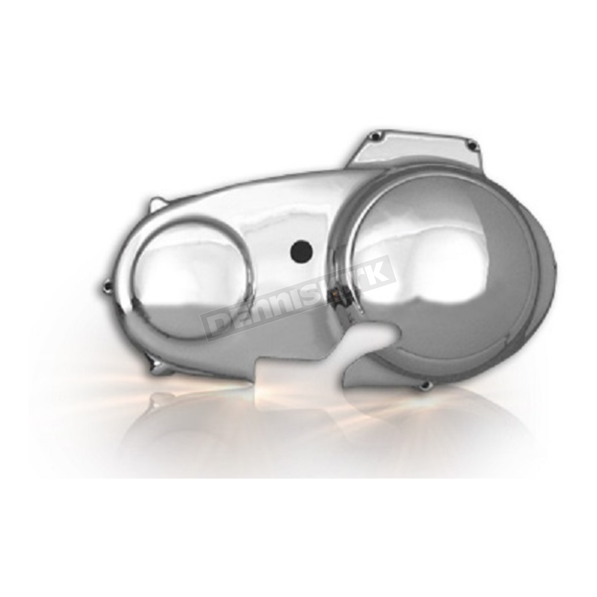 V Twin Manufacturing Chrome Outer Primary Cover 42 0750 Harley Davidson Flashlight