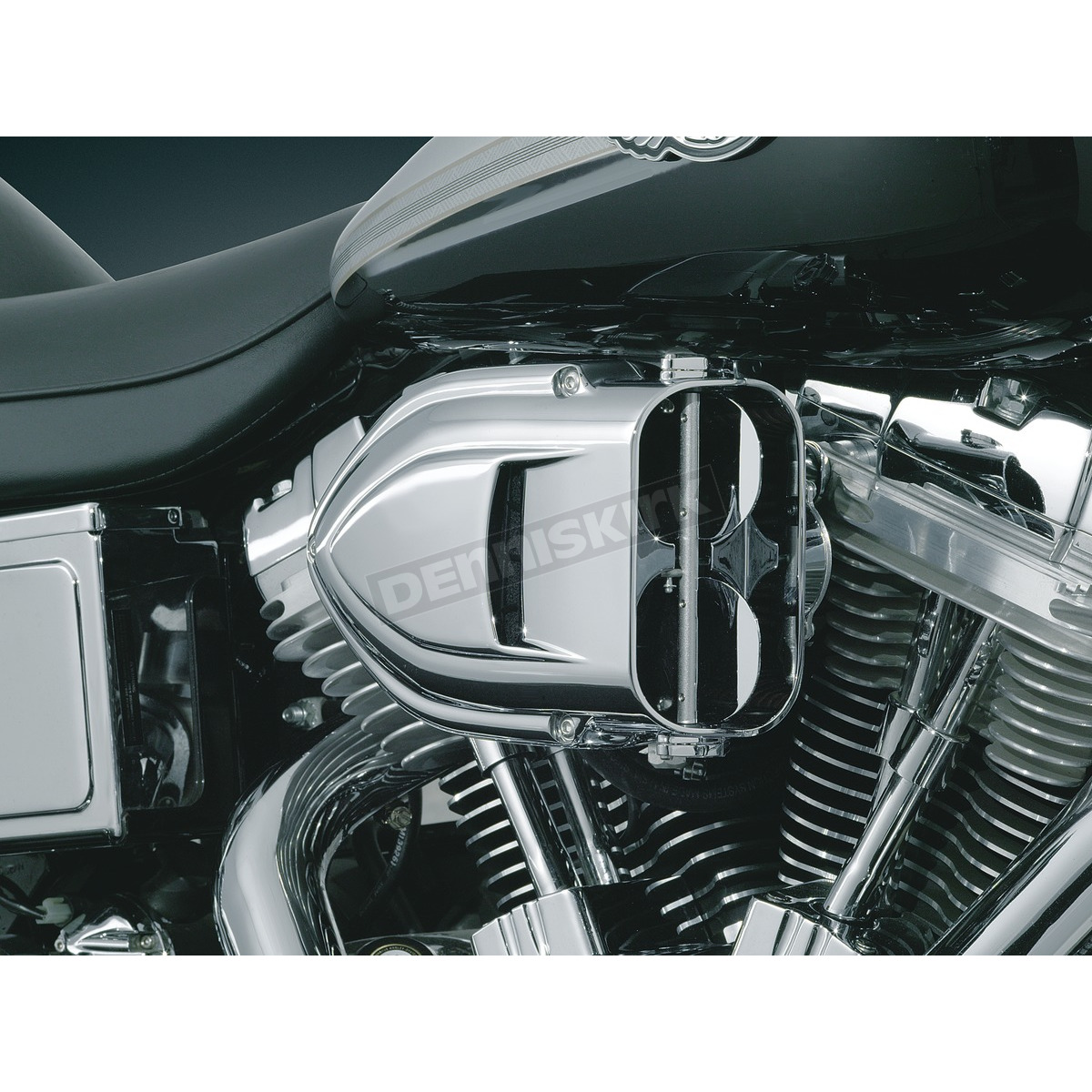 """S/&S 3//8/"""" Air Cleaner Breather Fitting for 99-06 Harley Dyna Touring Softail FLHX"""