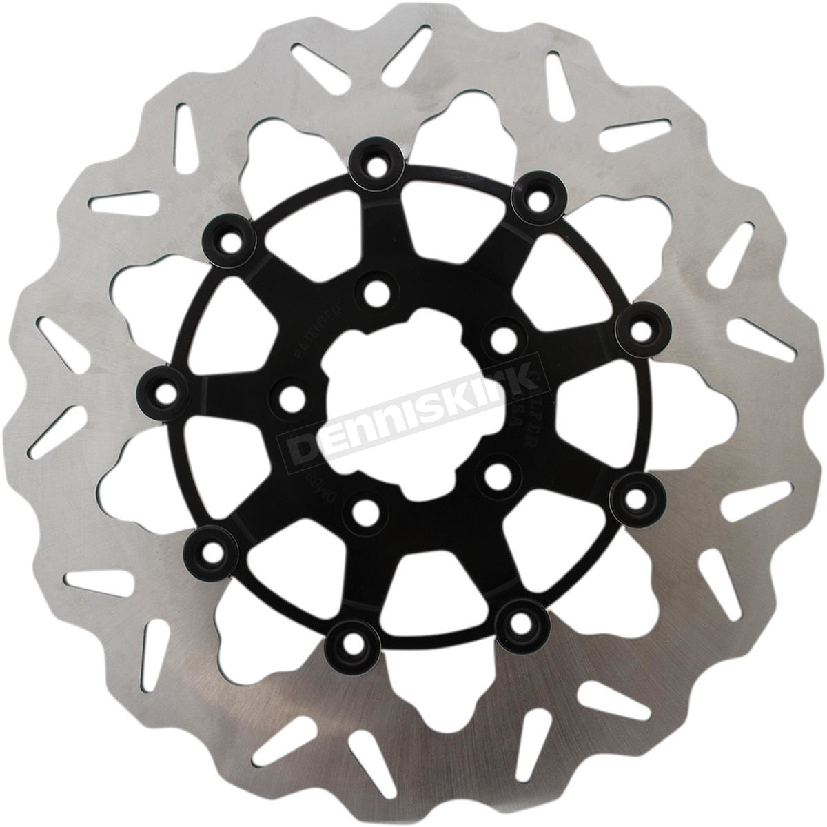 Full-Floating Front Wave Brake Rotor - DF835CW-B