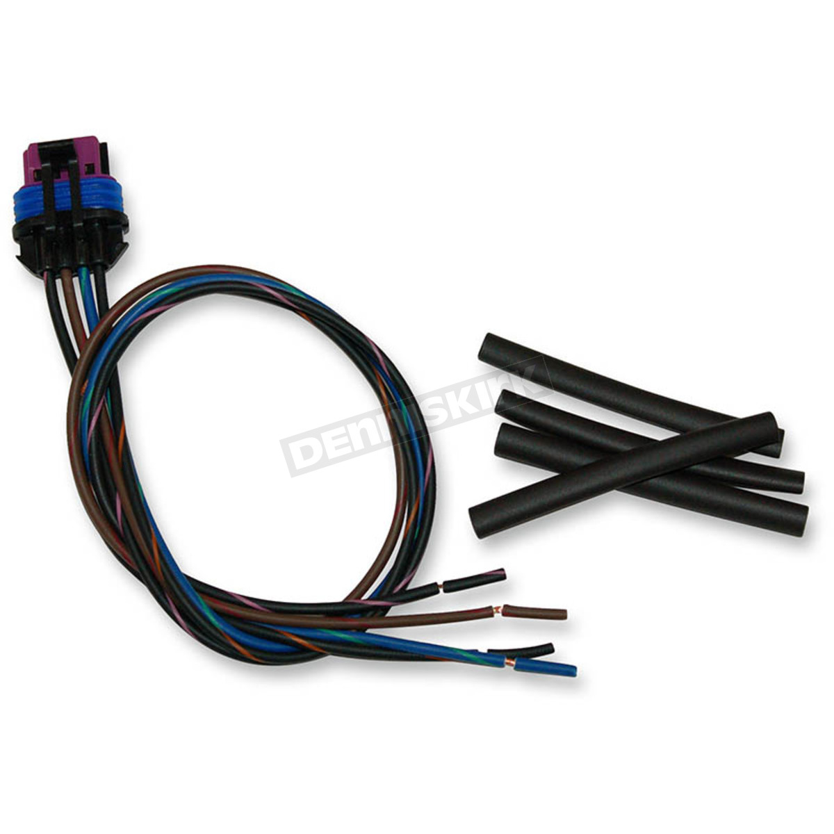 Namz Custom Cycle Products Delphi Connector W Wire Pigtails Pt Harley Davidson Wiring Connectors 15354716 B