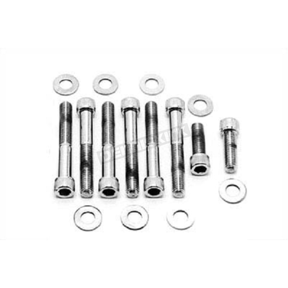 Chrome Rear Fender Strut Allen Bolt Kit - 37-9050