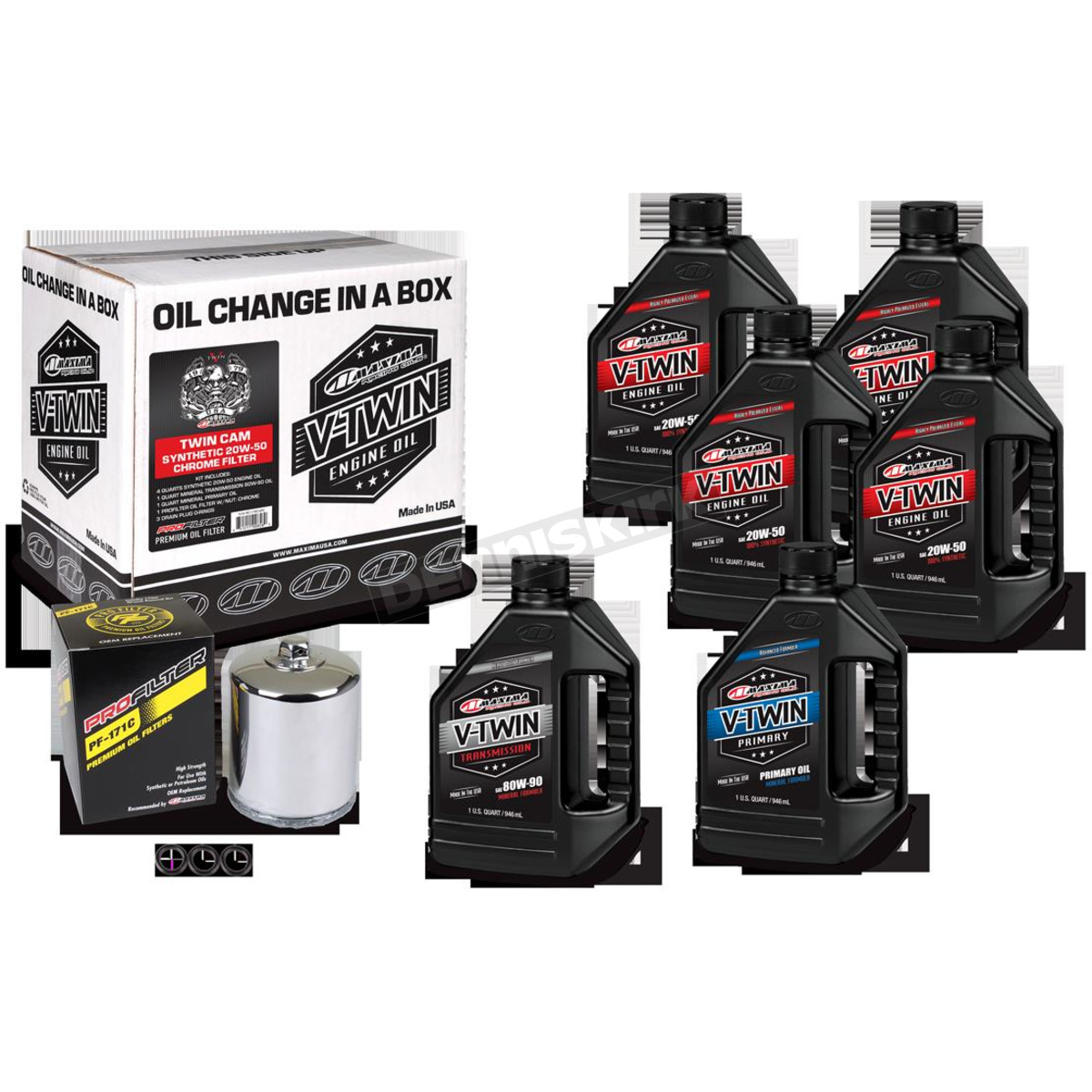 Synthetic Oil Change >> V Twin Full Change Synthetic Oil Change Kit 90 119016pc