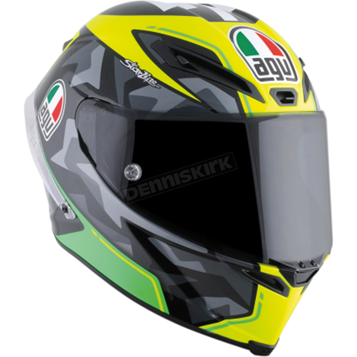 agv yellow green corsa r espargaro helmet 6121o1hy00108 motorcycle dennis kirk. Black Bedroom Furniture Sets. Home Design Ideas