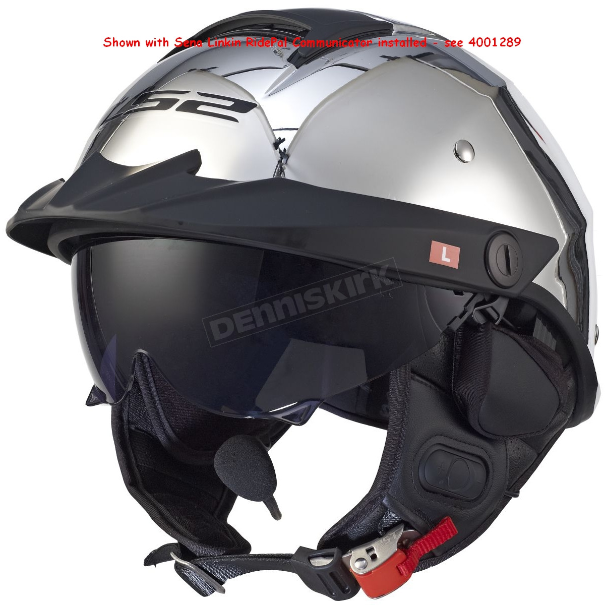 Chrome rebellion helmet 590 1021
