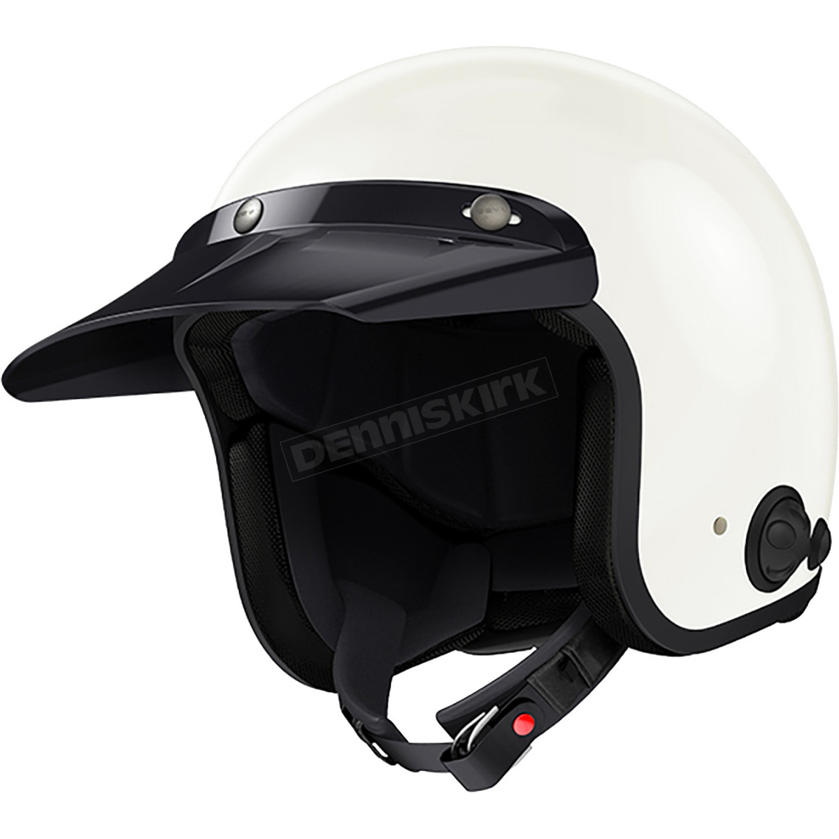 c4f592d0e70 Sena White Savage Helmet - SAVAGE-CL-GW-XS-01 Harley Motorcycle ...